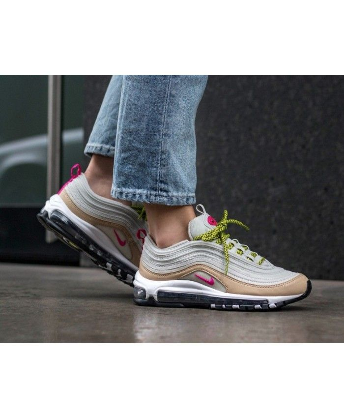 new product ce04e 98fd5 Women s Nike Air Max 97 Trainers In Light Bone Pink Trainer
