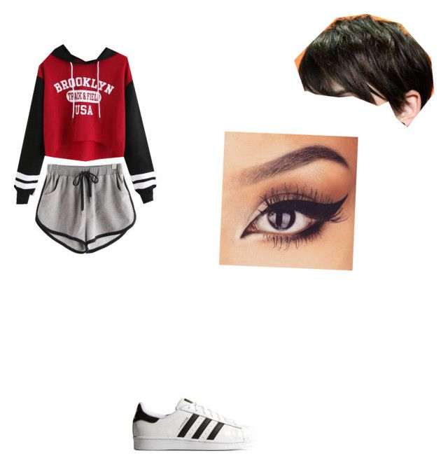Untitled #1 by poojah0009 on Polyvore featuring polyvore adidas Originals fashion style clothing