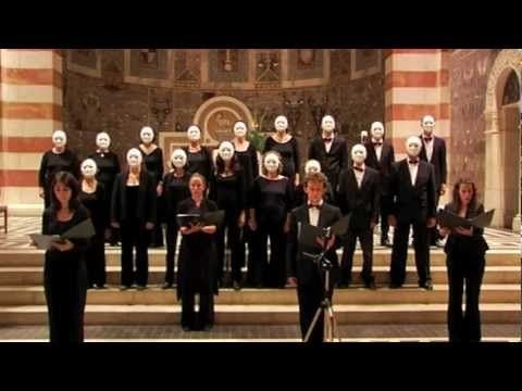 Story (John Cage   Living Room Music)   Jerusalem A Cappella Singers  Conducted Part 39