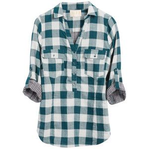 Dear stitch fix stylist, I'd love more plaid tops to add to my wardrobe, they're perfect for this season!