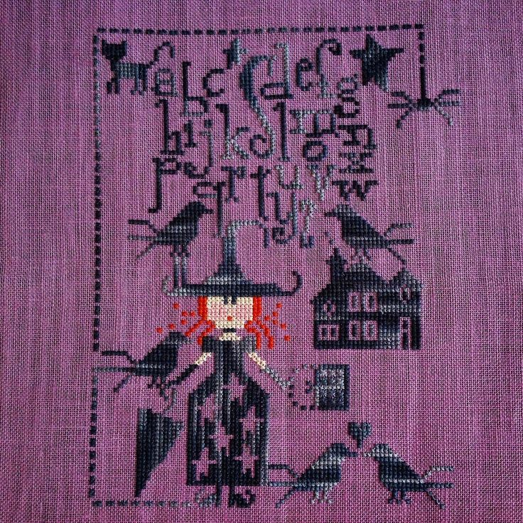 """A needle and some thread: My Halloween witch! :) """"Un tour dans mon Sac"""" by CMon Monde"""