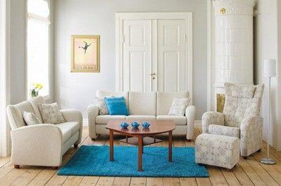Ami modulsofa sofa couch norwegian design brunstad beige fabric blue carpet bright interior system+ www.helsetmobler.no