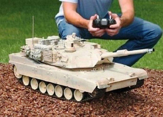 RC Tank M1A2 Abrams USA Airsoft Tank Toy 16 Military Battle Vechile w Sound #AmazingTechDepot