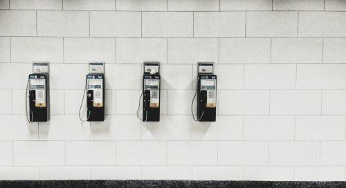 """Telephone bank"" (Ian Garrick Mason, 2015)"