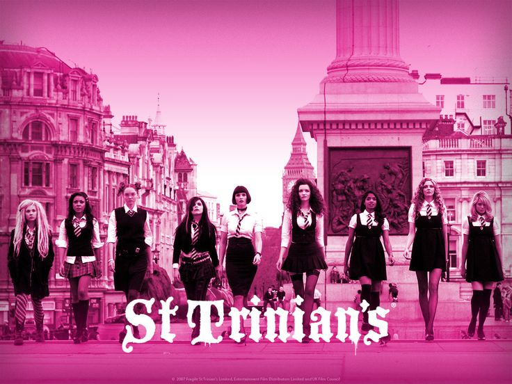 St. Trinians, guilty pleasure, the actors, songs, just a fun movie