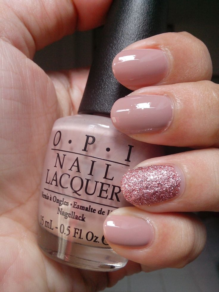 Nude Mood with OPI Tickle My France-Y