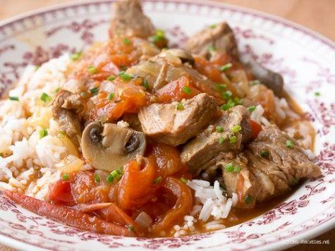 Une recette de veau Marengo, un plat en cocotte parfumé et gourmand qui devrait plaire à toute la famille.