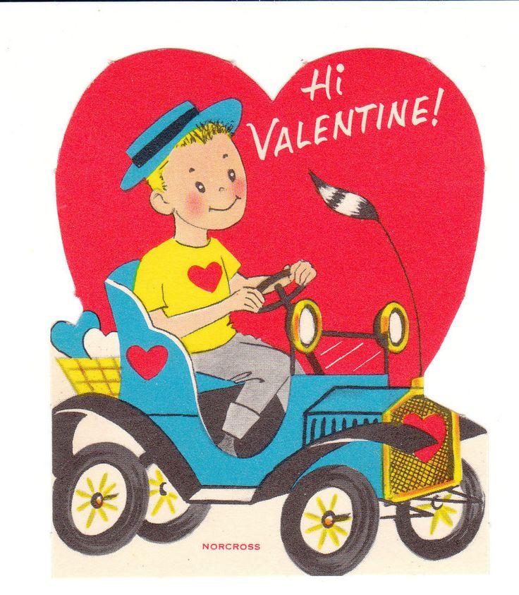149 best images about Vintage valentine Cards Travel on – Boy Valentines Cards