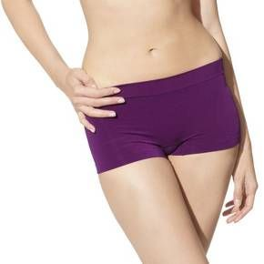Stock up on wardrobe basics with the Womens Seamless Boyshorts 2-Pack from Gilligan and OMalley. Each pair of this womens underwear is made of a super soft jersey knit nylonspandex blend. The tagless and seamless design looks sleek under clothes and offers all-day comfort. You can also wear these spandex shorts as loungewear or bed wear or under skirts or dresses for extra coverage. Available in a variety of solid and striped colors and neutrals.