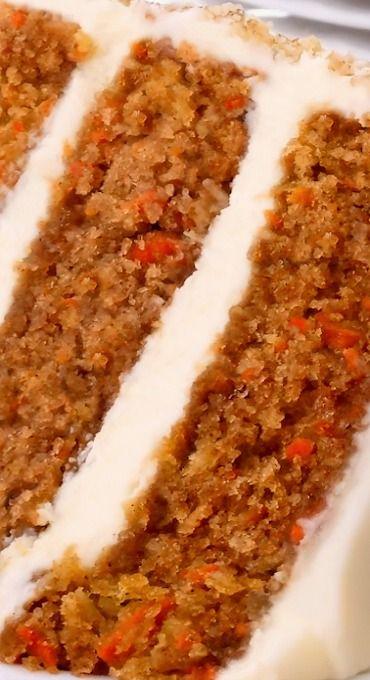 Carrot Cake ~ Best Ever Bakery Style