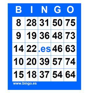 Generador cartones bingo 75 bolas