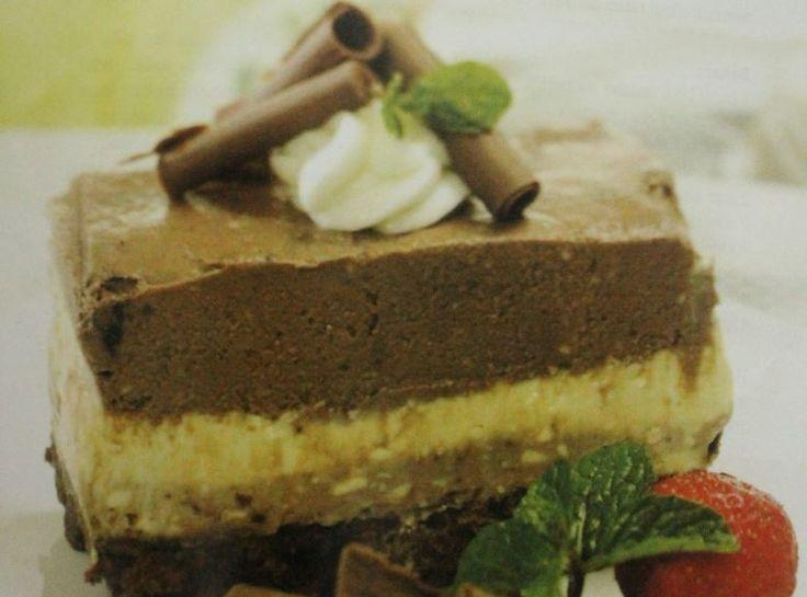 Resep Trio Lapis Cheesecake