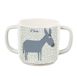Petit Jour Farm Double-Handled Cup.  Distributed by Kaleidoscope