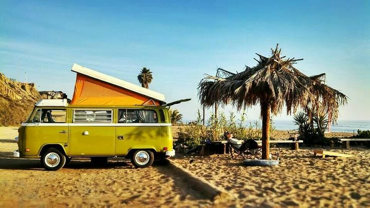 VW - bus - camper - van - The best beach house | Vw bus ...
