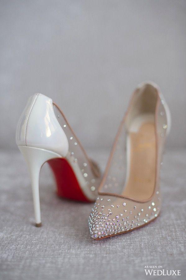 Crystal Romance Wedluxe Magazine Beautiful Wedding Shoes Wedding Heels Sparkly Pumps
