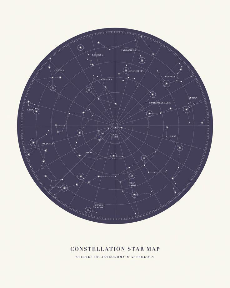 Constellation Map Poster Minimal 69 best Universe