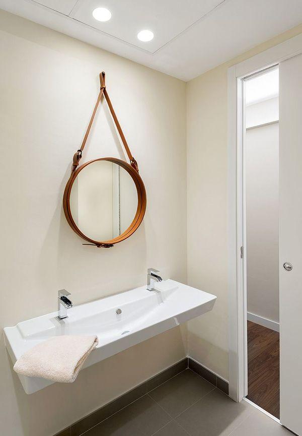 Las 25 mejores ideas sobre espejos circulares en pinterest for Espejo redondo grande
