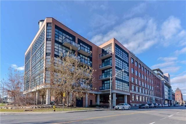 Toronto Lofts for Sale 68 Broadview Ave - Former Rexall Warehouse conversion into spacious modern lofts.