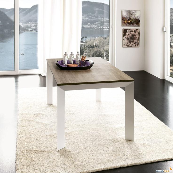 Tavolo allungabile personalizzato in più di 200 combinazioni My Project - ARREDACLICK