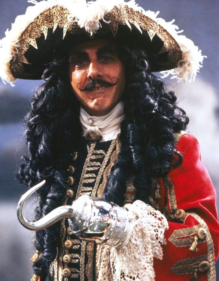Dustin Hoffman as captain Hook in HOOK