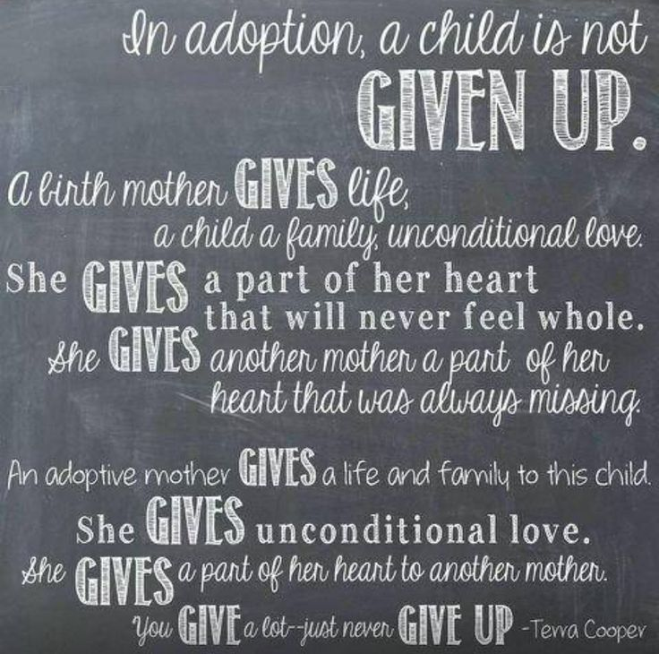 adoption quote our adoption celebration pinterest