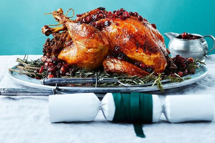 Always wanted to cook a turkey for Christmas but never quite had the confidence? Well, your prayers have been answered. Anyone with an oven can cook this super-easy turkey. Recipe: Cranberry glazed turkey with pumpkin and pecan stuffing