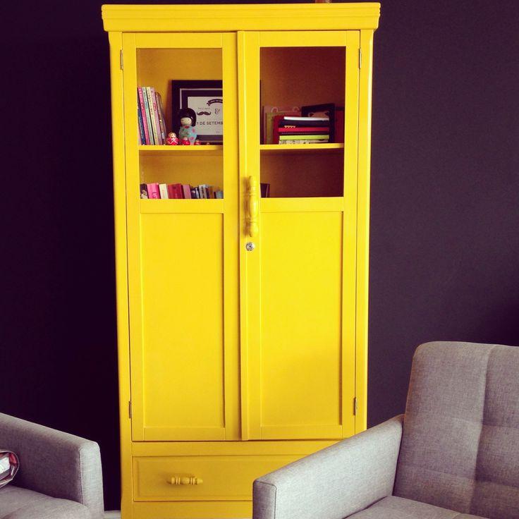 Armário Amarelo #yellow #retro #armário