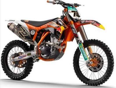 Nouvelle 350 KTM SX-F, l'avenir du motocross ? - 350 cm3 - KTM ...