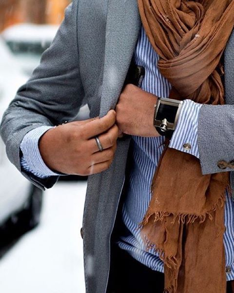 #fall look  what you think about the #scarf? [ http://ift.tt/1f8LY65 ]