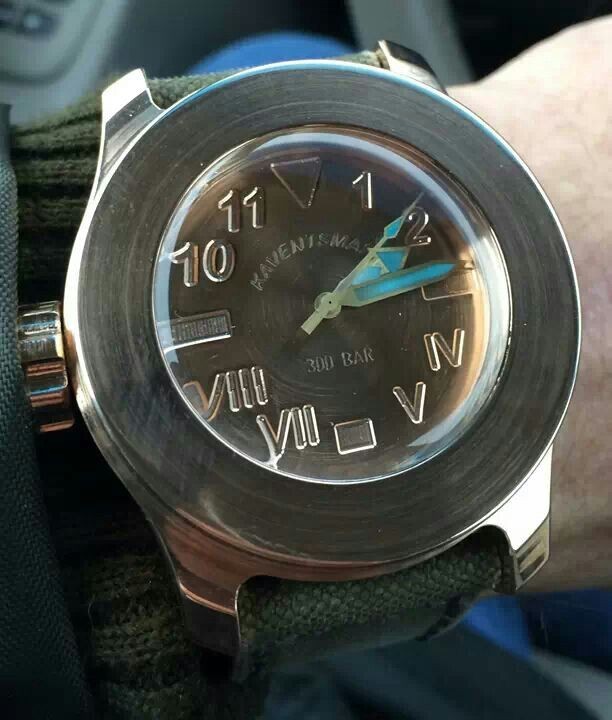 Bathyal Destro with Bronze Falicorina dial from Kaventsmann