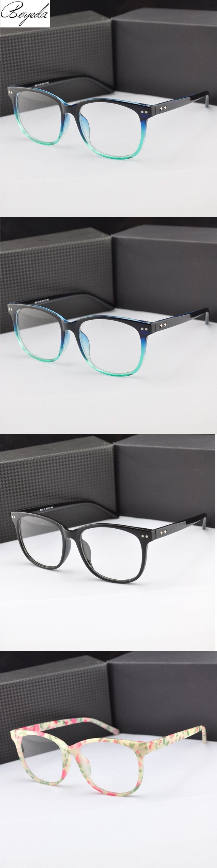 2016 Square Eyeglasses Retro Men Women Eye Glasses Female Optical Computer Eye Glasses Frame Prescription Eyewear Oculos De Grau $5.09