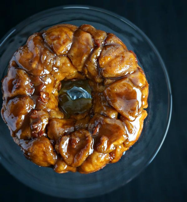 Bourbon, Bacon, and Brown Sugar Monkey Bread - Wry Toast