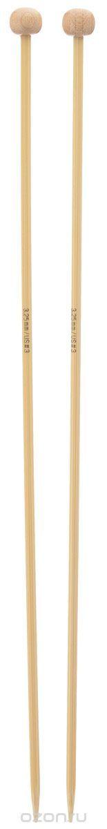 Спицы Addi, бамбуковые, прямые, диаметр 3,25 мм, длина 25 см, 2 шт500-7/3.25-25Спицы для вязания Addi изготовлены из бамбука. Поверхность спицы обрабатывается специальным, высокотехнологичным японским воском, который закрывает поры бамбука и делает поверхность абсолютно гладкой. Спицы прочные, легкие, гладкие, удобные в использовании. Ограничители препятствуют соскальзыванию петель. Прямые спицы используются при плоском вязании отдельных деталей, которые впоследствии будут сшиты в цельное…
