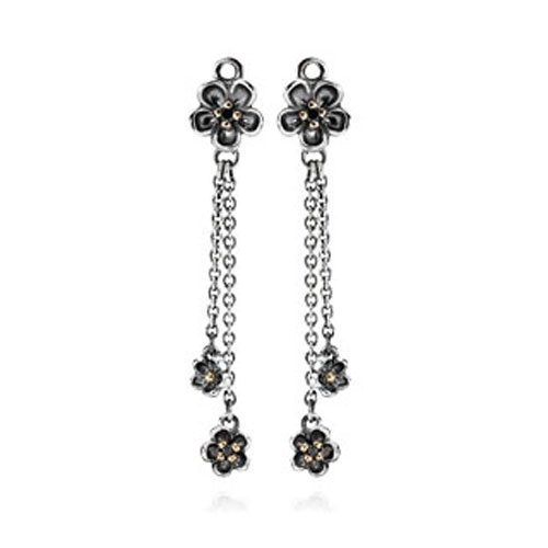 Pandora Compose Forever Bloom Earrings