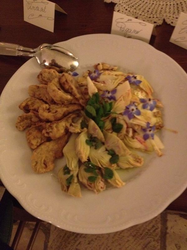 #MyPugliaExperience su #pinterest in un piatto con fiori, verdure e #musica :) con @MaVincentPuglia
