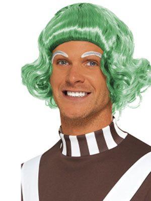 Umpa Lumpa Wig - Green