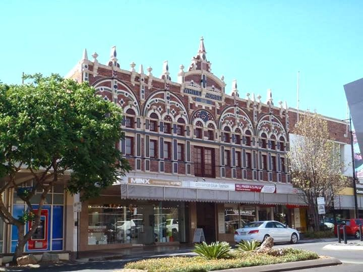 old style buildings in Toowoomba, architecture. Queensland, Australia. Blog: http://varietyisthebeautyoflife.blogspot.com.au