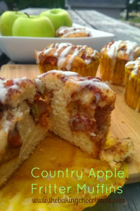 ... Apple Fritter Muffins | Recipe | Muffins, Country and Apple fritters