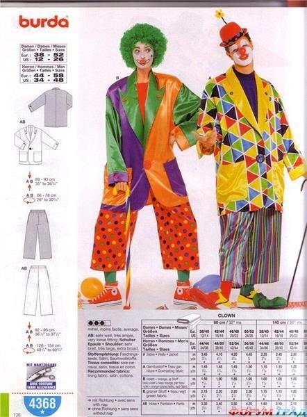 Как пошить обувь для клоуна