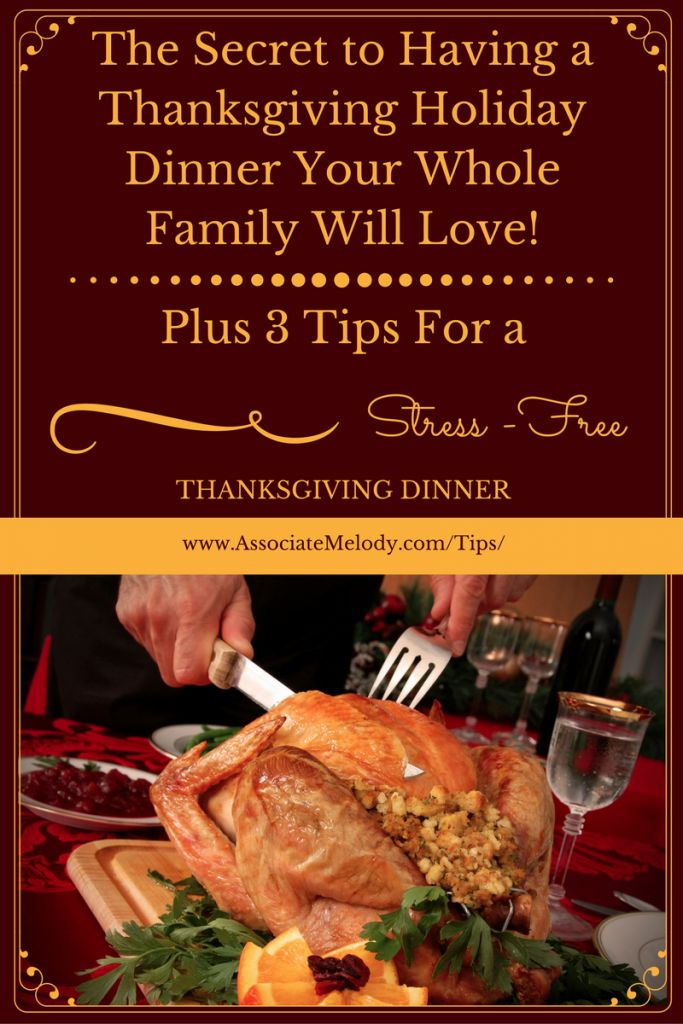 Create A Thanksgiving Dinner Your Whole Family Will Love