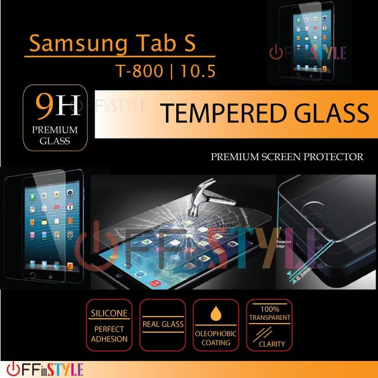 Samsung TAB S Tempered Glass Screen Protector | TAB S T-800