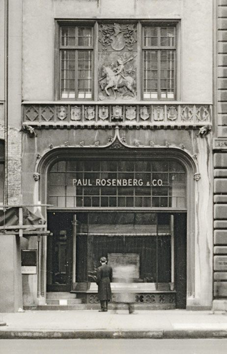 """Paul Rosenberg Gallery, 57th Street, New York, 1941-1953"""