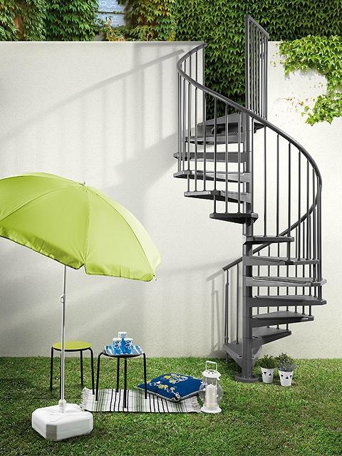 Escalera de caracol MAGIA 50 de Maydisa. www.maydisa.com