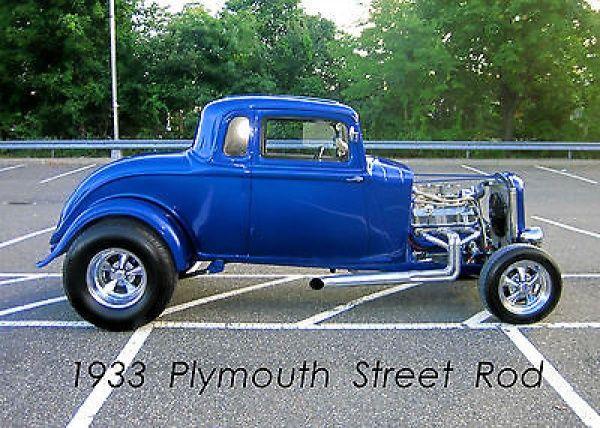 1930s Hot Rod 1930 Plymouth Coupe Street Rod Hot Rod Custom