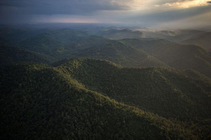 Западная Вирджиния Mountaintop Удаление: Как угольных шахт изменили способ Аппалачи Of Life (ФОТО)