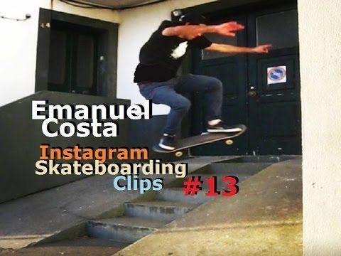 Emanuel Costa - Instagram Skateboarding Clips 13
