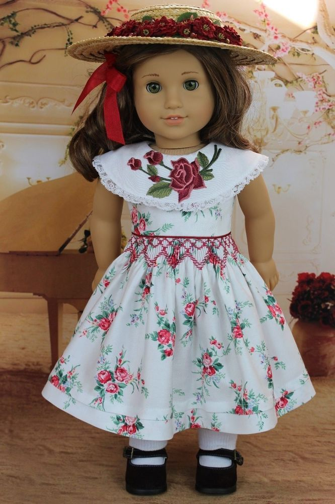 "... Pattern 18"" American Girl Doll Molly Rebecca Grace Maryellen   eBay"