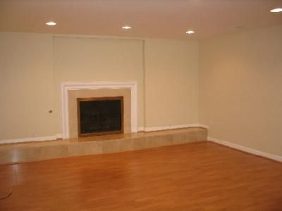 after finished basement with drywall and wood engineered floors for the home pinterest. Black Bedroom Furniture Sets. Home Design Ideas