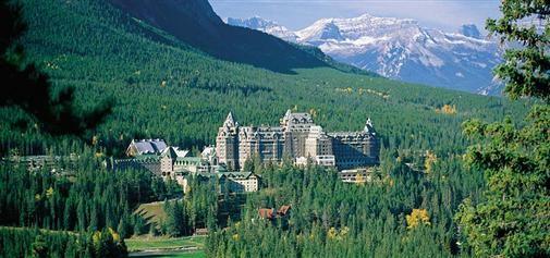 Fairmont Hotel, Banff, Canada