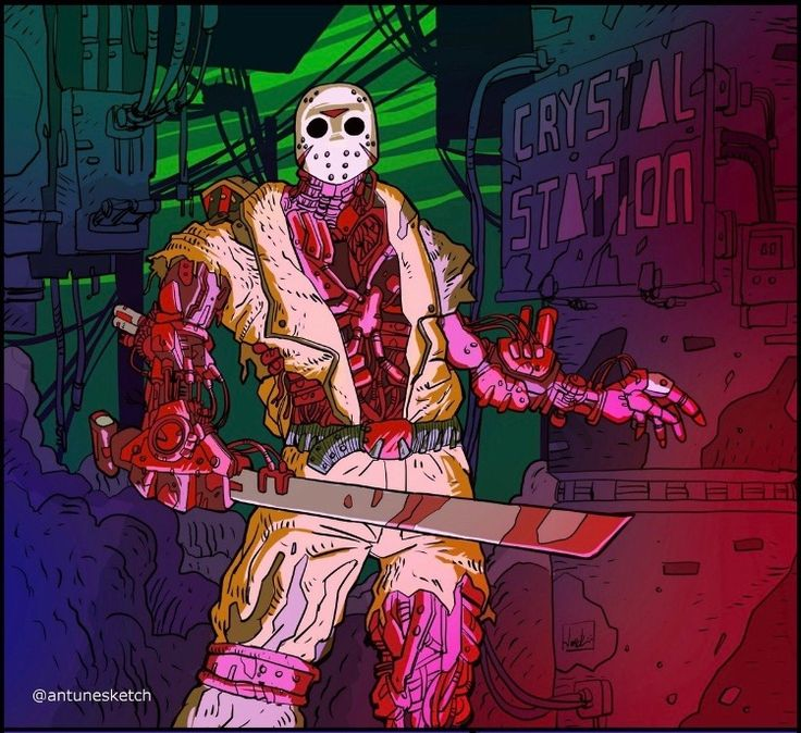this should have been Jason X LOL OVO
